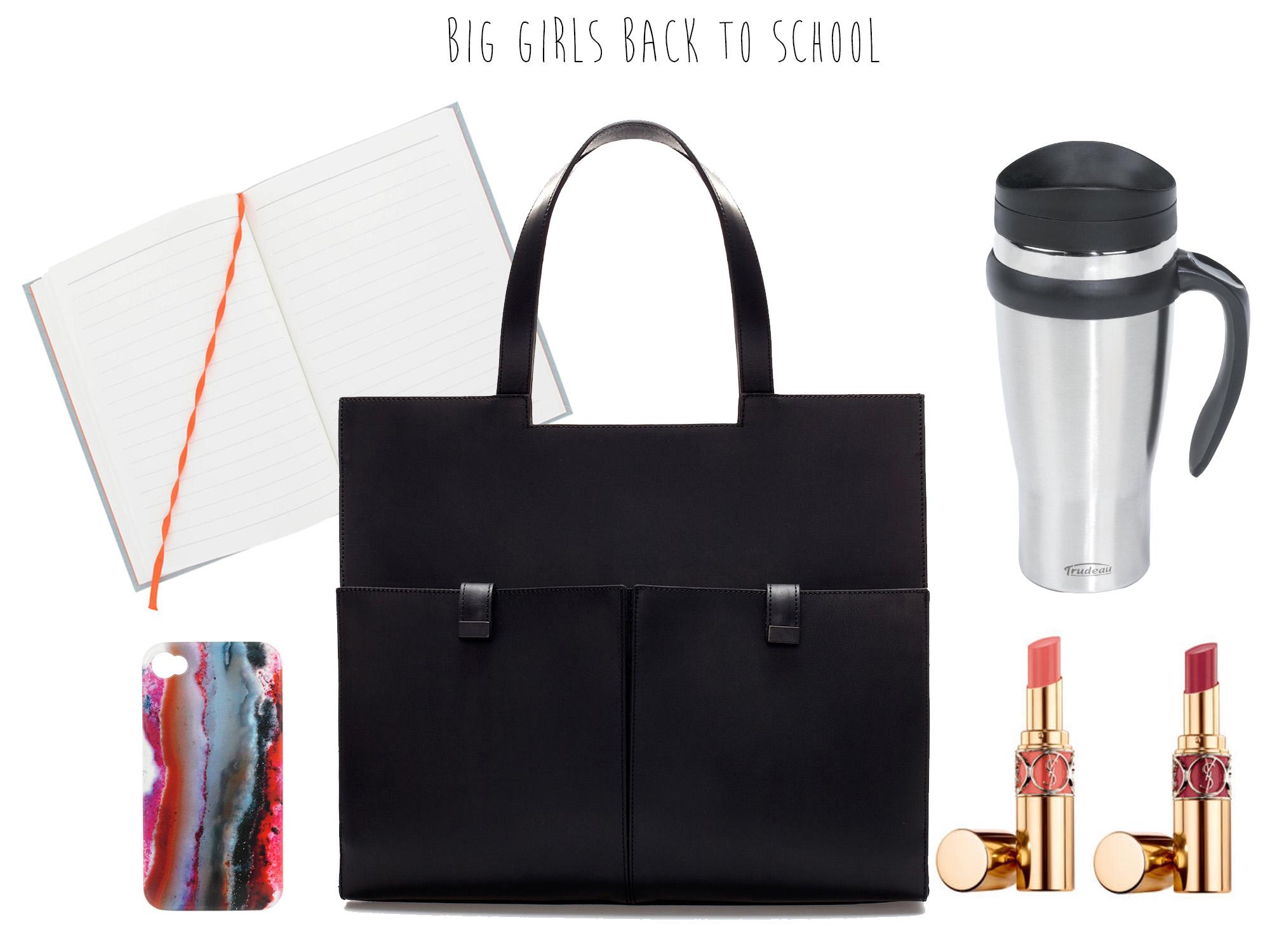 Big girl's back to school