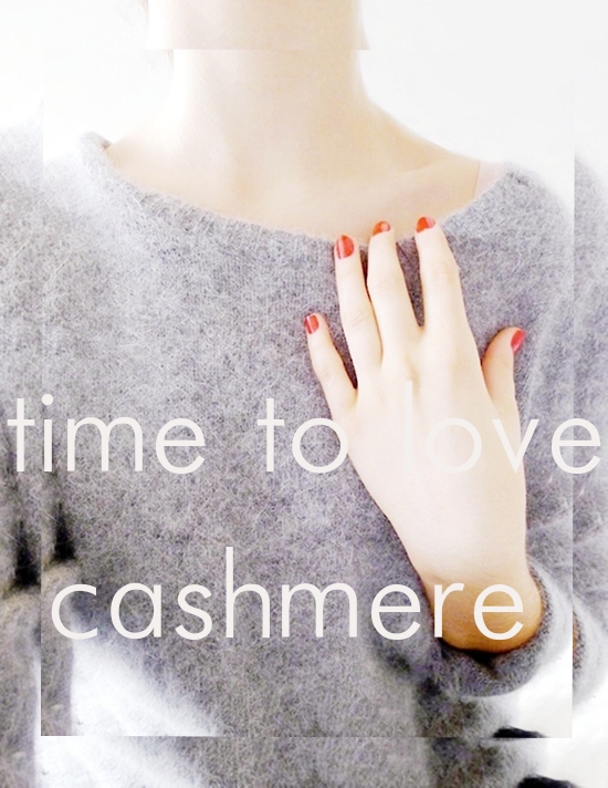 time to love cashmere
